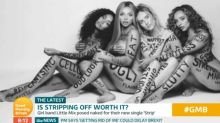 Piers Morgan brands Little Mix 'fake' for nude video