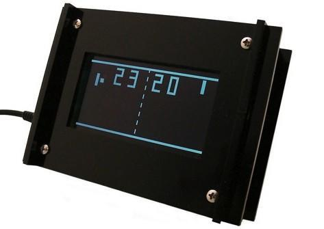 Adafruit's Monochron retro clock now on sale, changes time with every match point