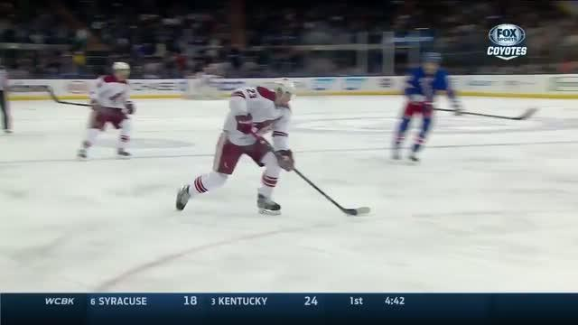 Ekman-Larsson snaps one short side on the PP