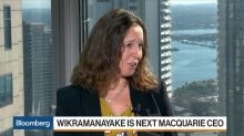 Macquarie Names Wikramanayake First Woman CEO as Moore Retires