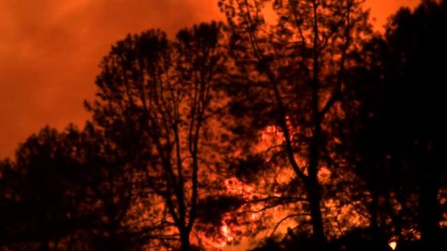 Wildfires burn on in California and Alaska