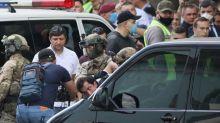 Ukraine police detain man who took hostage in Kyiv bank