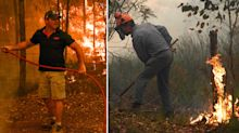 'Living in fear': Firefighters' small window to conquer weekend fires