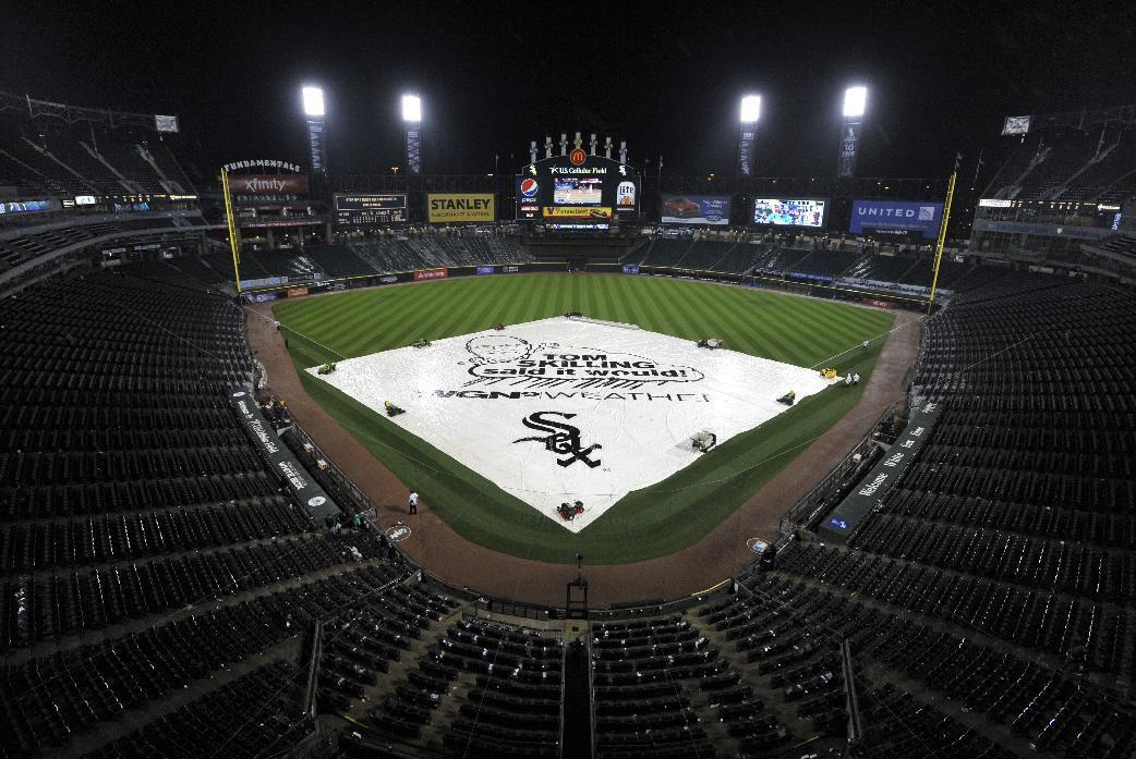 Fire Breaks Out At US Cellular Field Wont Affect Home