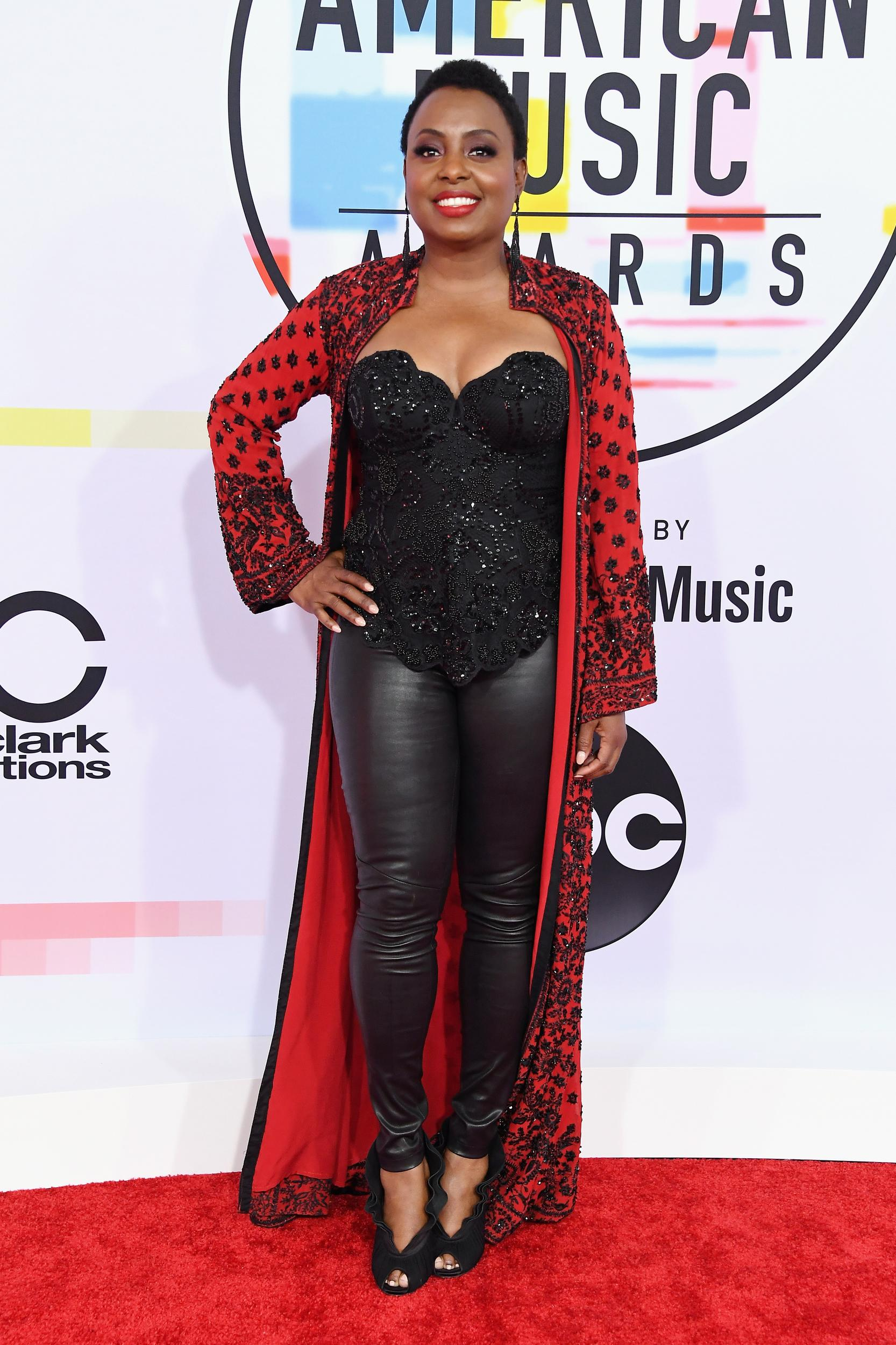 LOS ANGELES, CA - OCTOBER 09: Ledisi attends the 2018 American Music Awards at Microsoft Theater on October 9, 2018 in Los Angeles, California. (Photo by Steve Granitz/WireImage)