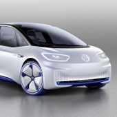 A Visionary VW Electric Car—2020 I.D. Debuts at Paris Motor Show