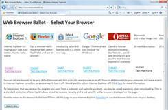 Microsoft reportedly randomizing browser ballots to appease EU, asks 'are you happy now?'