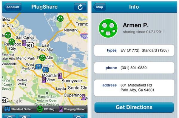 PlugShare app lets you share your plugs with other EV drivers