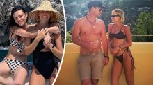 Lara Worthington's Italian vacay with brother