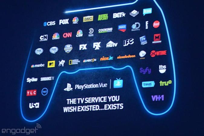 Sony adds a la carte TV channels to PlayStation Vue