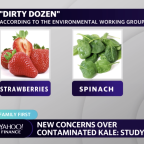 Produce with the most pesticides in your grocery store
