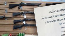 Menacing gun shop sign emerges ahead of Trump's final days