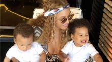 Beyoncé shares adorable new photos of Blue Ivy and the twins on their summer vacation