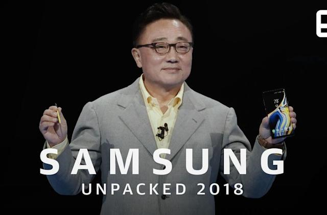 Watch Samsung's Galaxy Note 9 event in 12 minutes