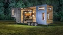 A $180,000 tiny home outfitted with a full chef's kitchen and a walk-in closet is being called 'the new family house' — see inside the Escher