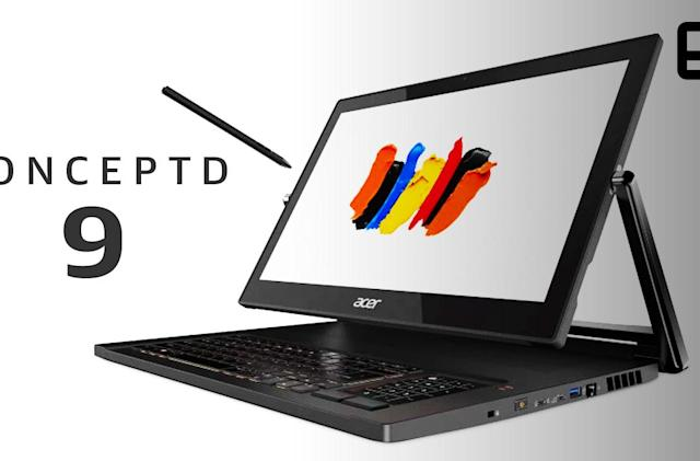 Acer ConceptD 9 laptop hands-on: A bombastic attempt to stand out
