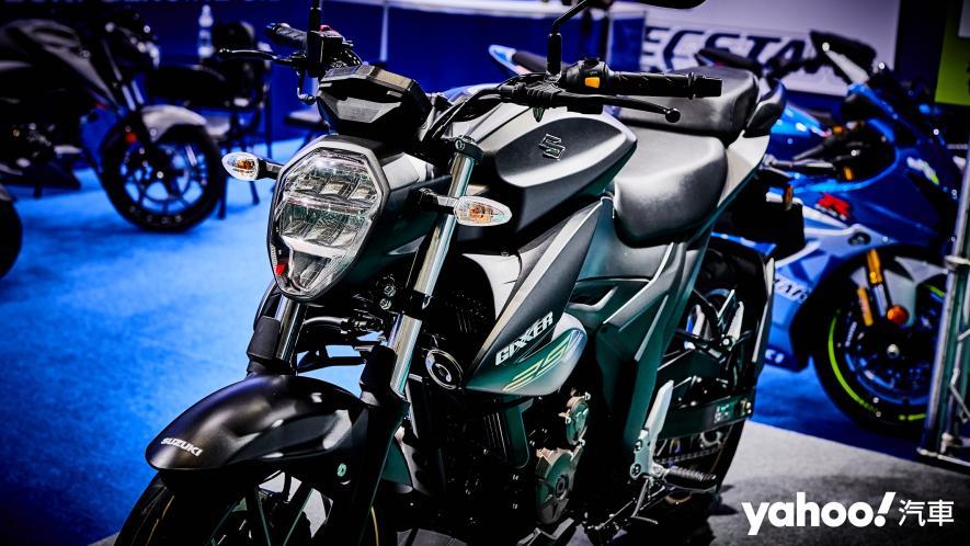 再次見面也依舊心動!2021 Suzuki Gixxer 250、SF 250台北重型機車展賞車! - 7