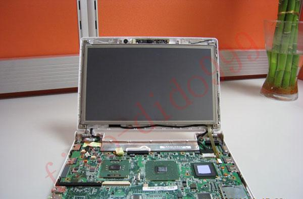 Fido-Dido touchscreen installed in Eee PC 900 complete with video