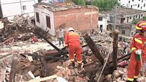 Rescue Workers Dig Through China Quake Debris