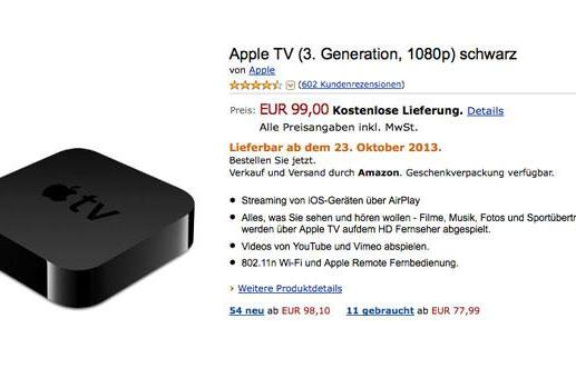 Amazon gently hints this might not be the best time to buy an Apple TV (update)