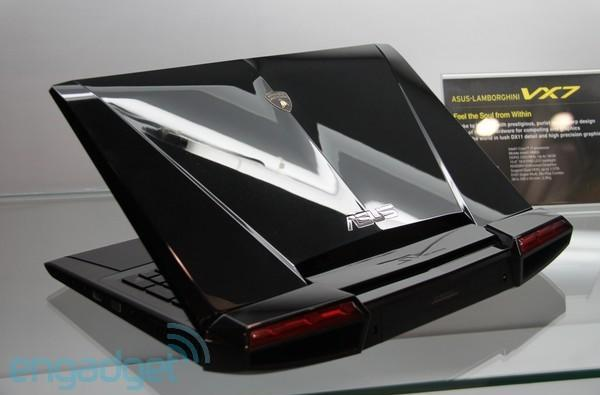 ASUS Lamborghini VX6 and VX7 peel out with NVIDIA Ion 2 and Core i7, respectively