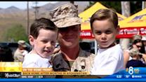 Back home after months in Afghanistan