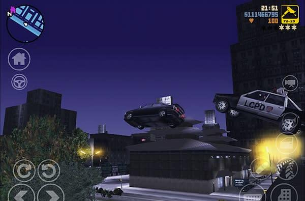 Grand Theft Auto III now available on Android and iOS, ready to turn back the clock for $5 (video)