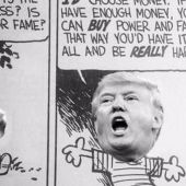 Donald Trump strangely fits in when reimagined in 'Calvin and Hobbes'