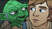 Star Wars: Mark Hamill returns as Luke Skywalker for Forces of Destiny short