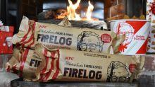 KFC Made a Firelog That Smells Like Fried Chicken