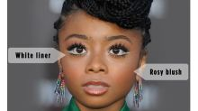 Skai Jackson's White Eyeliner Trick for Bigger, Brighter Eyes