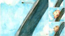 日本畫師「倉鼠跳Bungie Jump」連環圖 超可愛Twitter熱傳