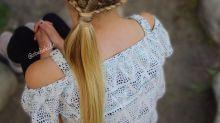 Mãe faz sucesso ao criar tranças elaboradas nos cabelos das filhas