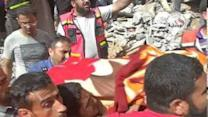 Body Recovered From Destroyed Home in Gaza