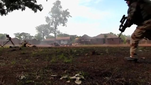 Fierce fighting in Central African Republic