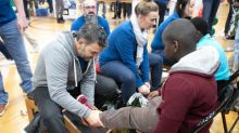 Genesco's Cold Feet, Warm Shoes Event Fits 400 Students At Nashville's Park Avenue Elementary