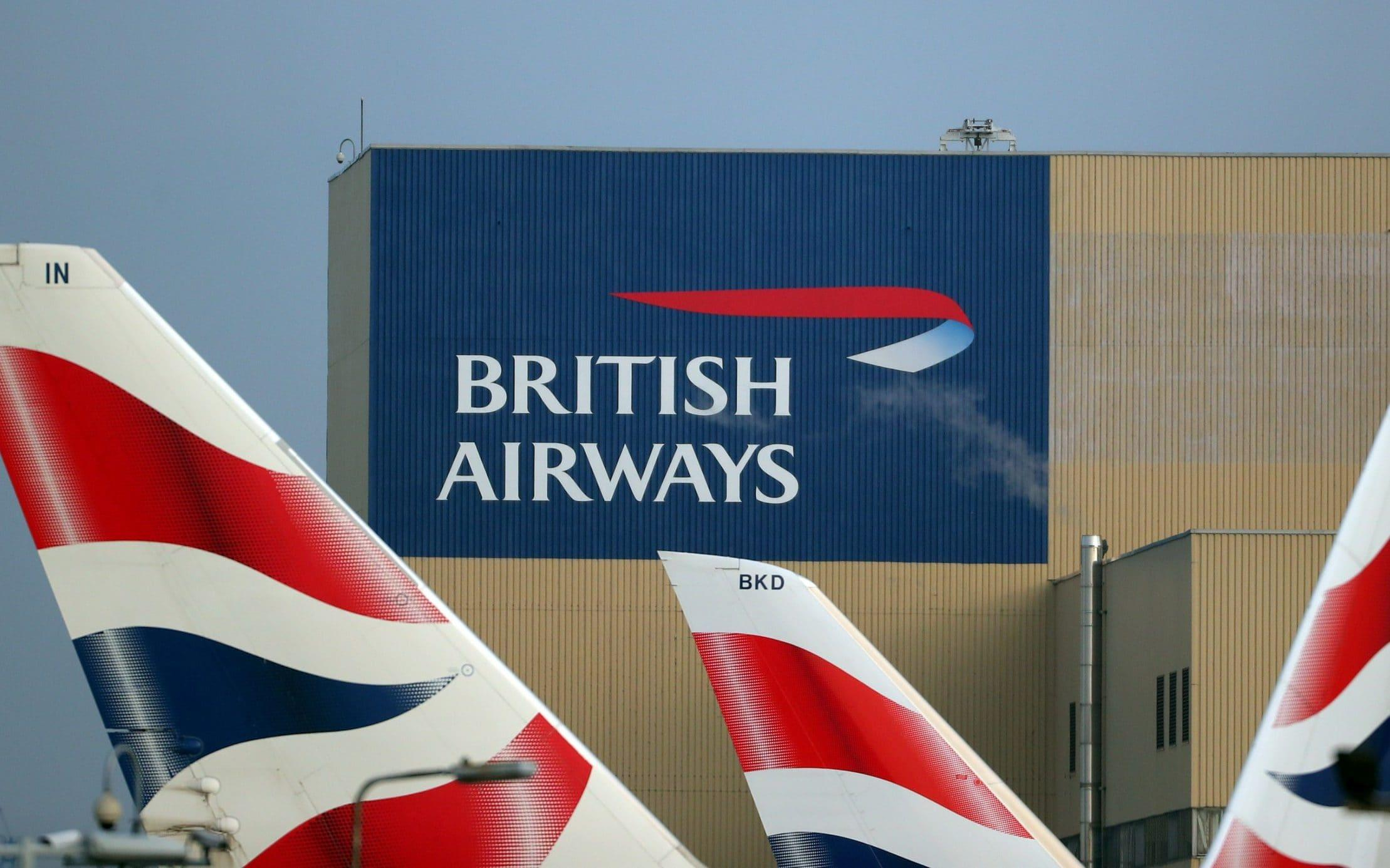 British Airways tells passengers not to turn up at airports, as airline's biggest ever strike begins