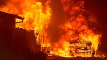 Wildfires rage in sweltering California