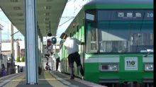 【有片】日本車長的愛 開車前同步有默契