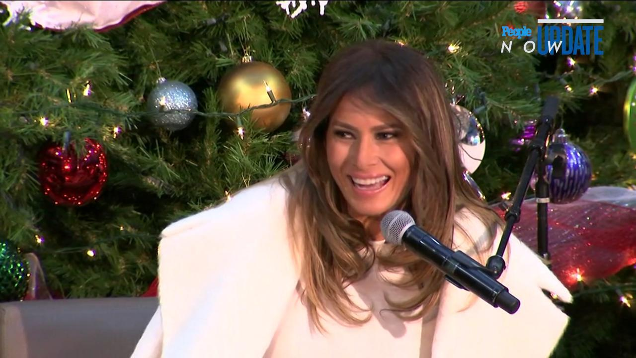 Melania Trump Saying She Wants to Spend Christmas on a Deserted ...