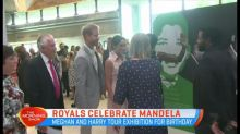 Royals celebrate Nelson Mandela