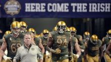 Brian Kelly's latest reason for Notre Dame's 4-8 season? Fundraising