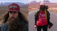 Un veterinario recorre la maratón de Forrest Gump… ¡y la supera!