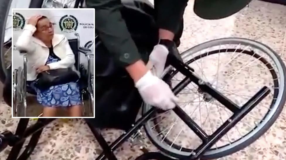 Three kilos of cocaine discovered hidden in 81-year-old woman's wheelchair