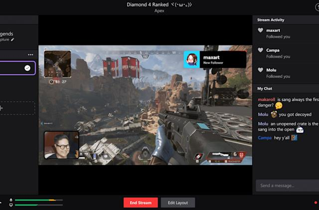 Twitch unveils its own desktop broadcasting app