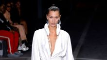 Did Bella Hadid walk the runway wearing a padded toilet seat around her neck? See the weirdest items at fashion week.