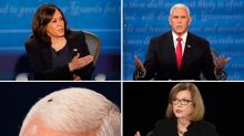 Kamala Harris had the perfect response when asked about Mike Pence's fly
