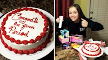 Mum hosts a 'first period' party for 14-year-old daughter