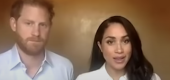 Prince Harry and Meghan Markle. (YouTube)