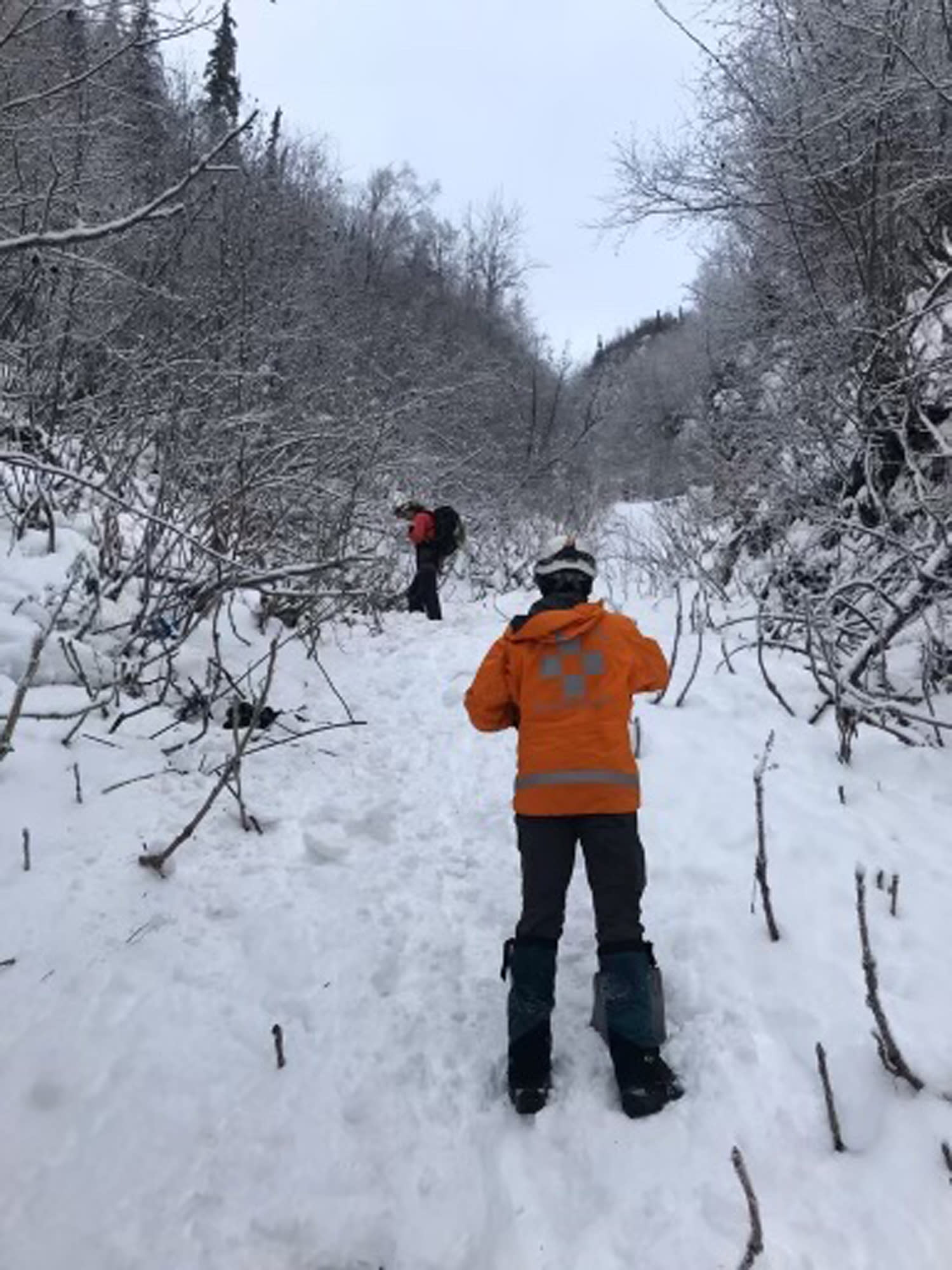 3 overdue hikers found dead after Alaska avalanche